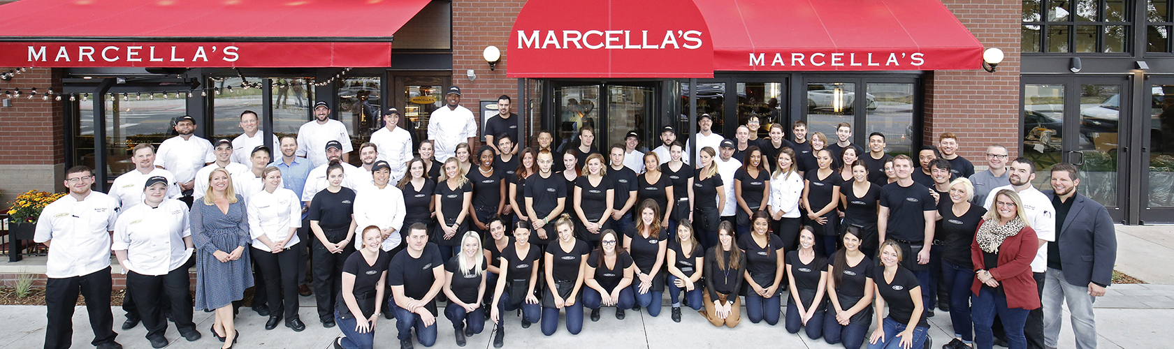 Marcella's team