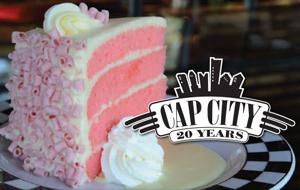 Cap City Pink Cake
