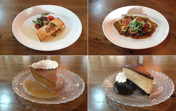 New dishes at The Barn