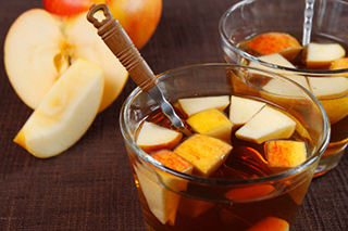 Bourbon Apple Punch