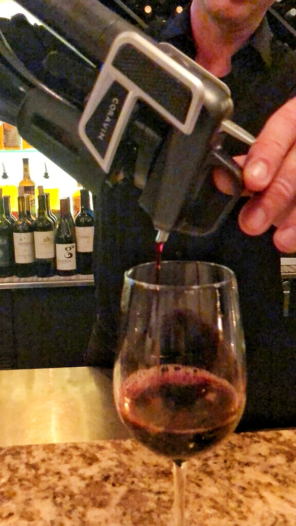 Preserve fine win with the Coravin system
