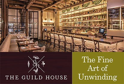 Join Us For Happy Hour 7 Days a Week at The Guild House