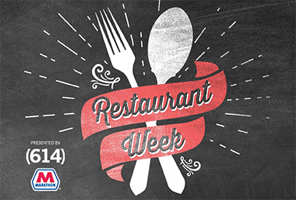 Join Us For Restaurant Week January 21-26