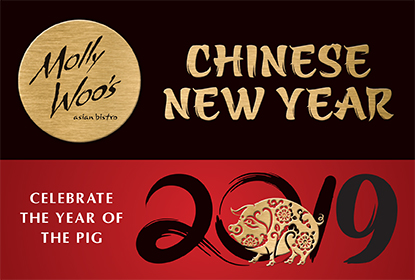 Celebrate Chinese New Year With Us At Molly Woo's!
