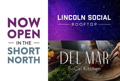 Del Mar SoCal Kitchen & Lincoln Social Rooftop Are Now Open!