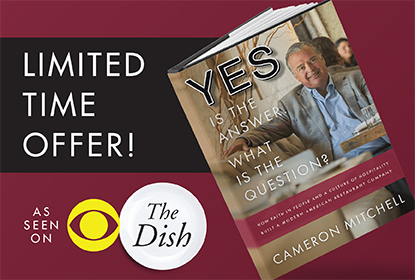 Receive 25% off <em>Yes is the answer. What is the question?</em> now through June 30!