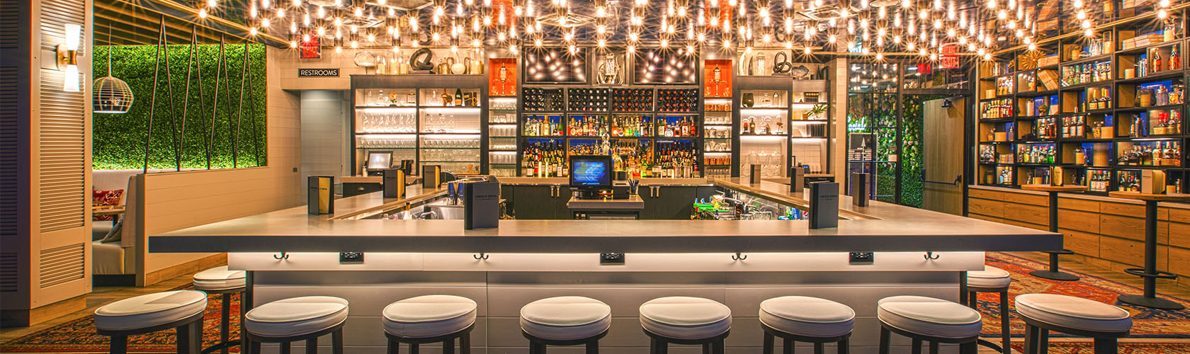 Interior of Lincoln Social bar