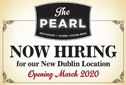 The Pearl is Now Hiring for the new Dublin location opening March 2020. Learn More!