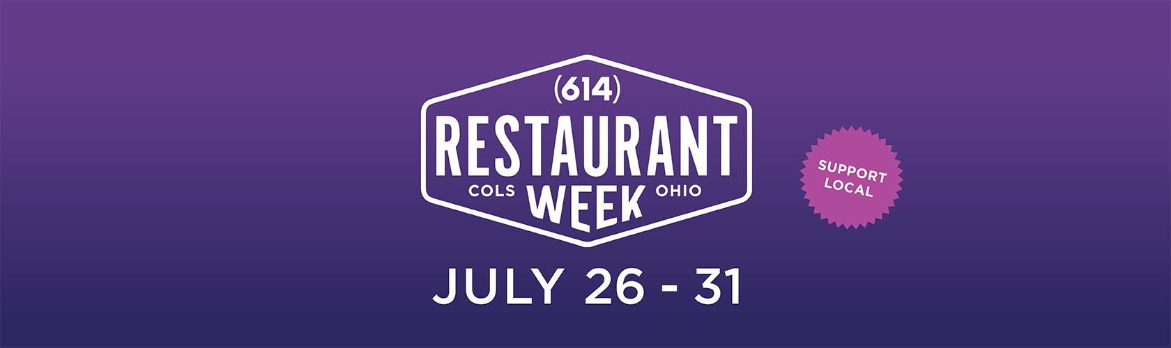614 Restaurant Week July 26 to 31