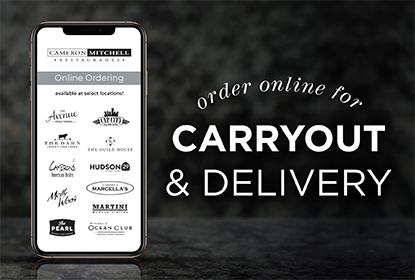 Order online for carryout and delivery